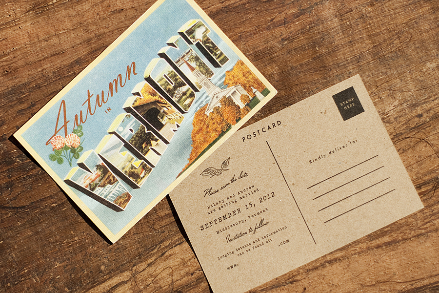 Kraft Postcard
