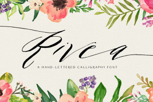 Presenting Rivea, My Latest Font
